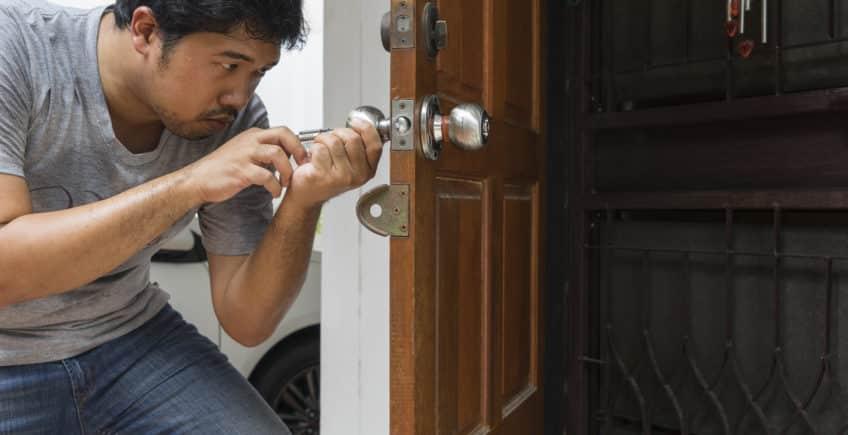 Comment faire lorsqu'on casse sa clé dans la serrure?